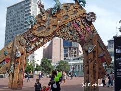 arch at Aotea Square