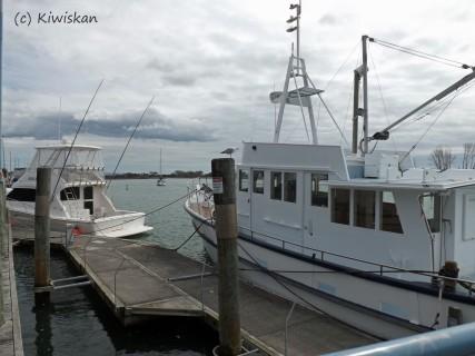 boats at Whakatane