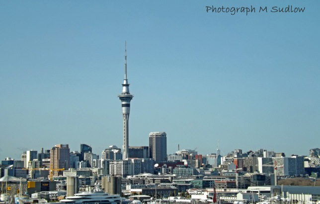 Auckland from the motorway2