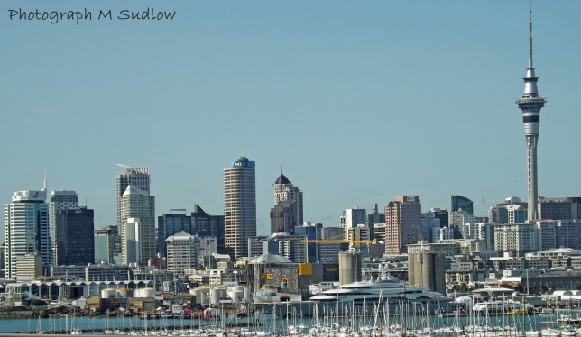 Auckland from the motorway3