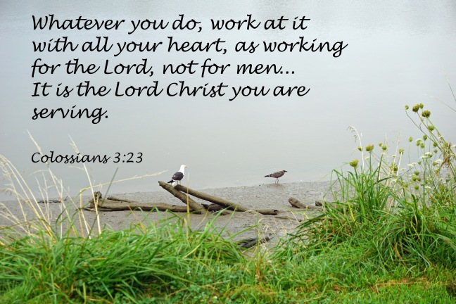 for the Lord