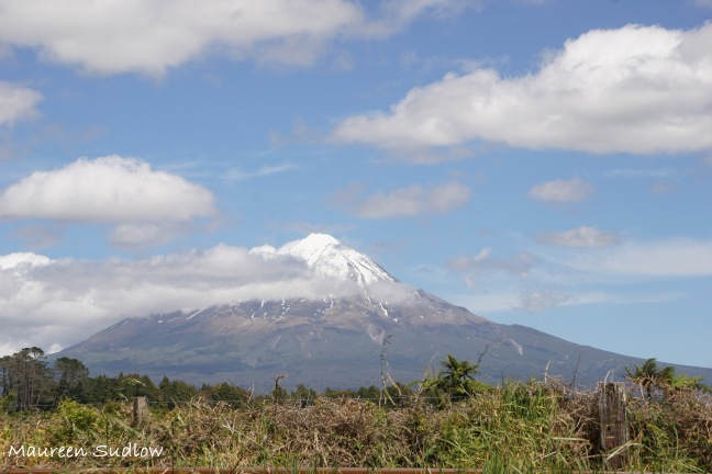 Mount Taranaki second