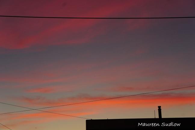 geometric evening