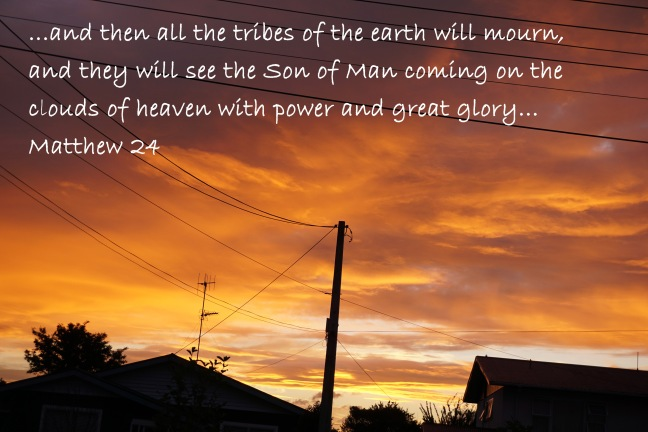 He will come in glory