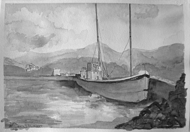 Rod boat six 85 bw