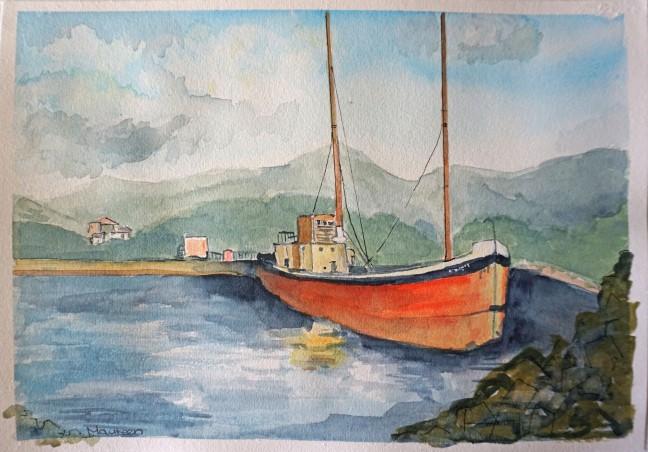 Rod boat six 85