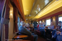 Indian Pacific lounge car