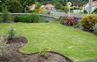 our garden four