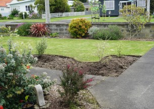 our garden three